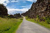Path Along Fissure