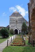Carta, Romania - 21.07.2012 - Cistercian church from Carta
