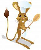 Allactaga Chef con cuchara