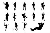 People Vector Silhouette