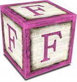 Alpha Block F Pink