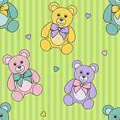 Teddy Bears Pattern