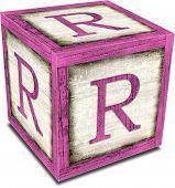 Alpha Block R Pink