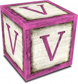 Alpha Block V Pink