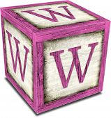 Alpha Block W Pink