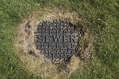 Sewer iron cover