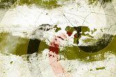 Patrón de fondo Grunge abstracta para el texto