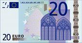 20 Euros Banknote