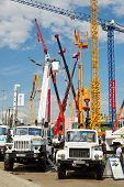 MOSCOW - MAY 29: Special automotive equipment GAZ at 13th International Specialized Exhibition of Co