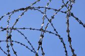 Barbed Wire And Sky poster