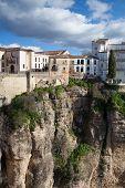 Muy famoso puente en Ronda
