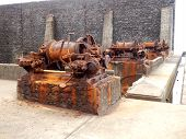 Rusted Steam Winches