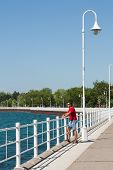 Boardwalk At Sarnia Bay Vertical