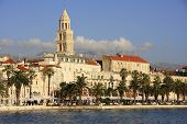 Diocletian's Palace, Split Waterfront, Croatia