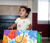 Toddler Girl Surprise
