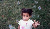 Toddler Girl Bubbles
