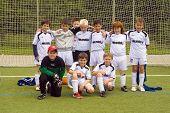 Children Of Bsc Schwalbach Playing Soccer