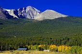 Longs Peak In Autumn