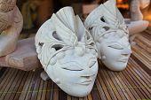 foto of gunung  - Craft wooden mask production is in Gunung Kidul Yogyakarta - JPG