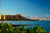 Sunset on Diamond Head