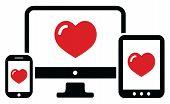 Love Computer Device Set