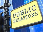 Conceito de PR. Marcação de relações públicas.