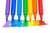 Rainbow Color Felt Pens