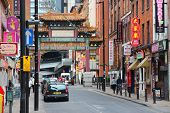 Chinatown In Manchester