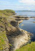 Staffa Shoreline From Bluff