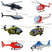 Helicopter Icons