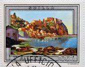stamp printed in Italy shows Scilla Calabria