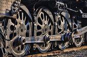 Train drive wheels