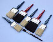 Decorators paint brushes