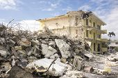Hotel Demolition Scene