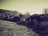 Vintage Sepia Susa Valley