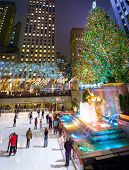 Ice Skating Rockefeller Center