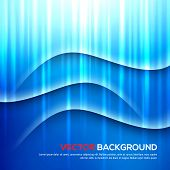 Abstract light and shadows vector background.