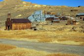 Постер, плакат: Старый США Западной золото призрак шахтерский город Боди