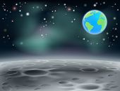 Moon Space Earth Background 2013 C5