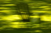 Abstract Motion Blur Lawn Chair