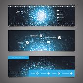 Web Design Elements - Header Design - Universe Theme