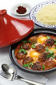 pic of tagine  - kofta tajine - JPG