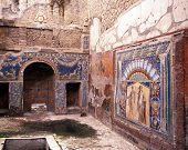 Villa interior, Herculaneum, Italy.