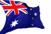 Australian Flag Isolated