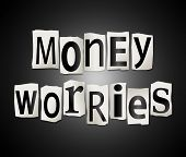 Money Worries Concept.