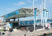 Westjet Stage In Toronto Waterfront