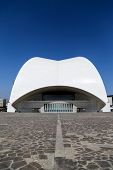 Tenerife Auditorium In Spain