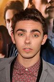 LOS ANGELES - AUG 12:  Nathan Sykes at the