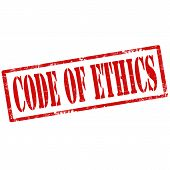 Code Of Ethics-stamp