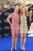 LOS ANGELES - JUN 17:  Melissa Joan Hart, Taylor Spreitler at the